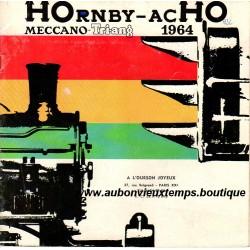 CATALOGUE HOrnby - acHO  MECCANO TRI-ANG  1964