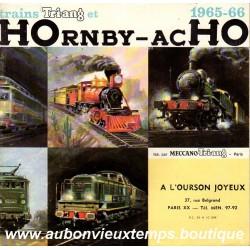 CATALOGUE HOrnby - acHO  MECCANO 1965  1966