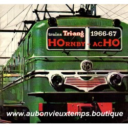 CATALOGUE HOrnby - acHO  MECCANO 1966  1967