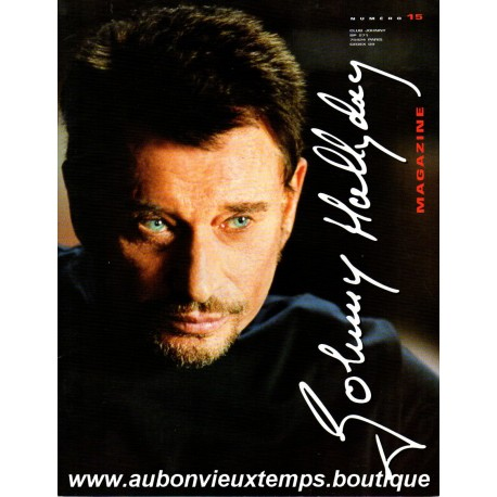 MAGAZINE JOHNNY HALLYDAY N° 15