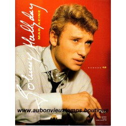 MAGAZINE JOHNNY HALLYDAY N° 12