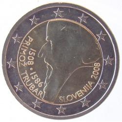 2 EUROS COMMEMORATIF 2008 - SLOVENIE