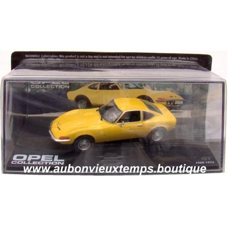 EAGLEMOSS OPEL COLLECTION GT  1968 - 1973    1/43