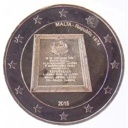 2 EUROS COMMEMORATIF 2015 - MALTE