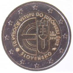 2 EUROS COMMEMORATIF 2014 - SLOVAQUIE
