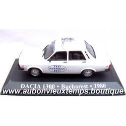 IXO DACIA 1300 TAXI BUCAREST 1980 1/43