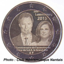 2 EUROS COMMEMORATIF 2015 - LUXEMBOURG