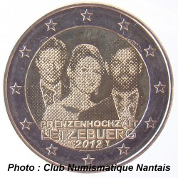 2 EUROS COMMEMORATIF 2012 - LUXEMBOURG
