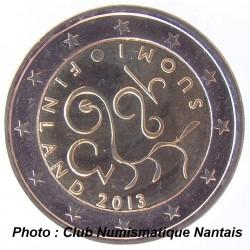 2 EUROS COMMEMORATIF 2013 - FINLANDE