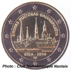 2 EUROS COMMEMORATIF 2014 - LETTONIE