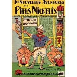 LES NOUVELLES AVENTURES DES PIEDS NICKELES - ATTRACTIONS SENSATIONNELLES  N° 8