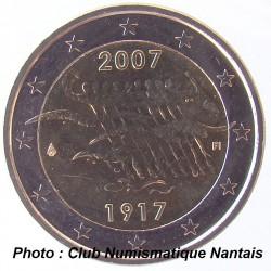2 EUROS COMMEMORATIF 2007 - FINLANDE