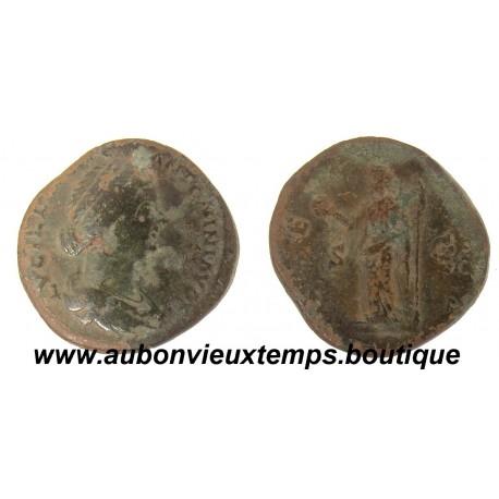 SESTERCE LUCILLE  164-166 ap J.C.
