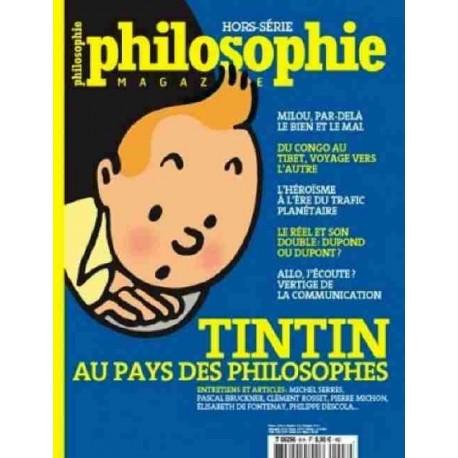 LIVRE TINTIN AU PAYS DES PHILOSOPHES - HORS SERIE - 2010