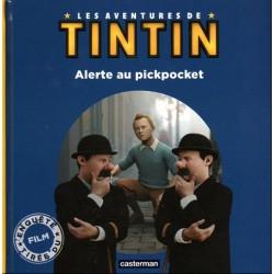 LIVRE LES AVENTURES DE TINTIN - ALERTE AU PICKPOCKET - CASTERMAN 2011