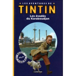 LIVRE LES AVENTURES DE TINTIN - LES EVADES DU KARABOUDJAN - CASTERMAN 2011
