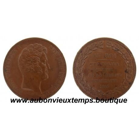 MONNAIE ESSAI MODULE DE 5 FRANCS LOUIS PHILIPPE 1833  THONNELIER
