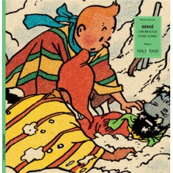 HERGE - CHRONOLOGIE D'UNE OEUVRE - EO TOME 5 - ( 1943-1949 ) 2004