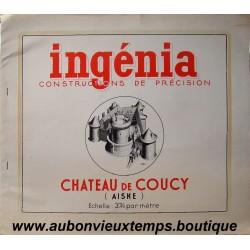 CHATEAU DE COUCY - INGENIA - CONSTRUCTION DE PRECISION