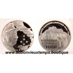 100 FRANCS - 1994  ALPHONSE JUIN - CINQUANTENAIRE DU DEBARQUEMENT ARGENT   BE