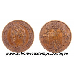10 CENTIMES - ESSAI BRONZE 1847 TYPE A LA CHARTE DE 1830 - LOUIS PHILIPPE  1er