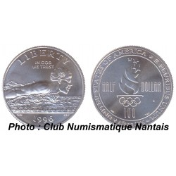 1/2 DOLLAR 1996 COMMEMORATIF