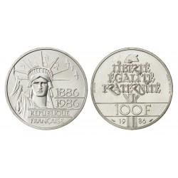 100 FRANCS 1986  LIBERTE  PIEFORT  ARGENT