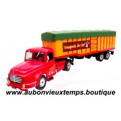 IXO 1/43  WILLEME LC 610 T - TRANSPORT DU CERF