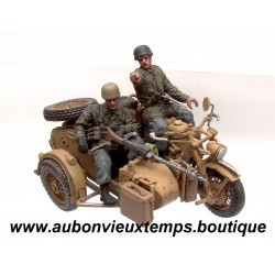 UNIMAX TOYS 1/32 SIDE CAR KS 750 POLOGNE 1944 GERMAN ZUNDAPP