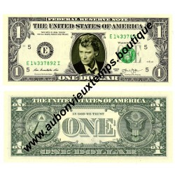 ONE DOLLAR JOHNNY HALLYDAY 2013