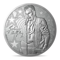 MEDAILLE JOHNNY HALLYDAY 2020 - JOHNNY GUITARE