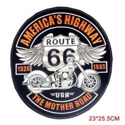 PATCH BIKER BRODE - ROCKER ROAD 66