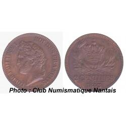 ESSAI 2 CENTIMES LOUIS PHILIPPE 1 1842
