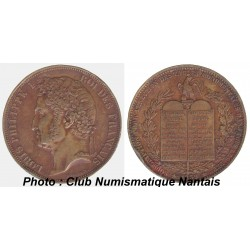 ESSAI 1 DECIME LOUIS PHILIPPE 1  1839 BRONZE