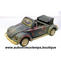 MAISTO 1/36 VOLKSWAGEN VW COCCINELLE CABRIOLET MILITAIRE