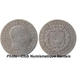 2 LIRES 1825 SARDAIGNE