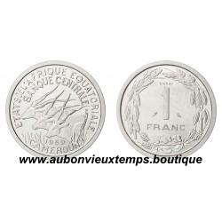 ESSAI 1 FRANC  1969  CAMEROUN - AFRIQUE EQUATORIALE