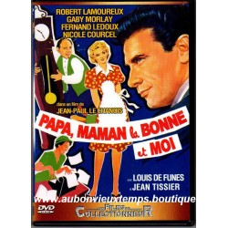 DVD  ROBERT LAMOUREUX - PAPA. MAMAN. LA BONNE ET MOI