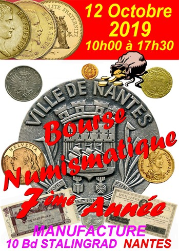 BOURSE NUMISMATIQUE 2019